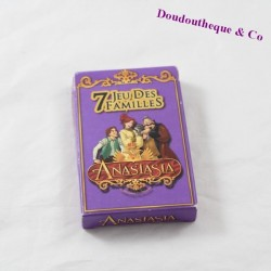Jeu de cartes 7 familles TWIENTIETH CENTURY FOX Anastasia 1997