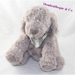 Dog plush ATMOSPHERA grey bandana neck 27 cm