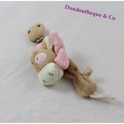 Tie tie Lola cow NOUKIE'S Lola the pink beige cow scarf 20 cm