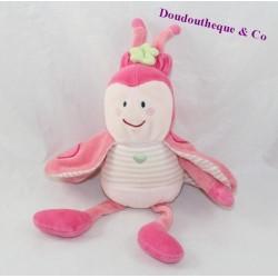 Pink ORGE SUCRE Ladybug 22 cm