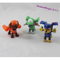 Lot of 3 Pat'patrol Paw Patrol figurines