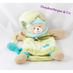 Doudou puppet bears DOUDOU and company fish