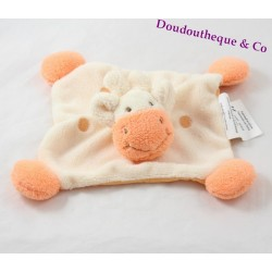 Doudou giraffe BABOU orange yellow pea 20 cm dish
