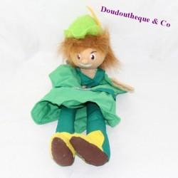 Marionnette Peter Pan AU SYCOMORE vert épée 38 cm