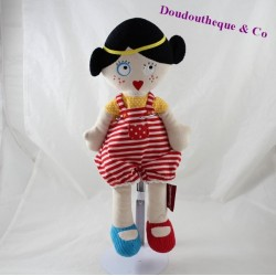Odette plush doll The Deglingos The Brown Mistinguettes 37 cm