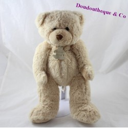 Peluche ours HISTOIRE D'OURS Calin'ours beige 34 cm