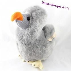 Peluche oiseau dodo WALLY PLUSH TOYS Mauritius Ile Maurice dodo gris 30 cm