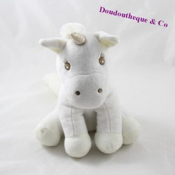 ATMOSPHERA black beige seated unicorn towel 23 cm