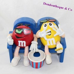 Distributor M-M'S m'ms red and yellow at the cinema 17 cm