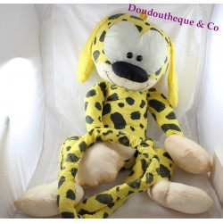 Large plush Marsupilami in vintage parachute canvas 90 cm
