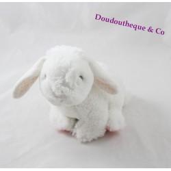 Tex BABY rabbit fur white fur pink peas 15 cm