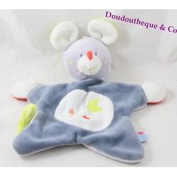Soft flat mouse SUCRE D'ORGE blue blue moon-grey star 26 cm