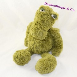 JELLYCAT Furryosity green alligator 40 cm crocodile towel