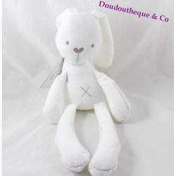 BBSKY white rabbit cub seams brown 37 cm