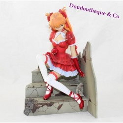Statuette Asuka Langlay KOTOBUKIYA Neon Genesis Evangelion lolita Gothic