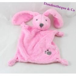 NicoTOY flat rabbit towel print pink Simba Toys 24 cm