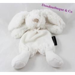 Doudou flat rabbit THE MAISON OF JEANNE white fur 26 cm
