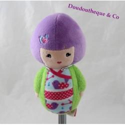 Peluche doll Aesha KIMMIDOLL JUNIOR Quiron Famosa Japanese doll 18 cm