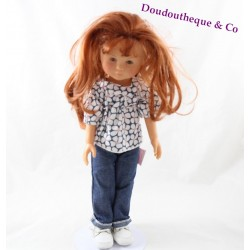 Doll Clara COROLLE The Red-haired Cheres 34 cm brown-eyed jeans