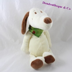 Dog stuff maxITA beige strawberry green scarf 24 cm