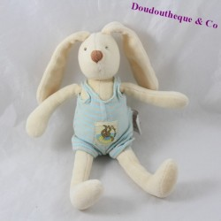 Doudou rattle rabbit MOULIN ROTY A Sunday at the water's edge shivers 21 cm