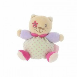 Mini patapouf bear KALOO lilirose flower tie 13 cm