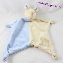 Flat pad mouse PARADISE TOYS beige blue 35 cm
