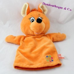 Kängurupuppe orange WALIBI 30 cm