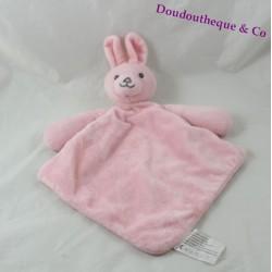 Doudou flat rabbit FUTURA FINANCES pink diamond 33 cm