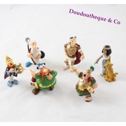 Figurines Astérix et Obélix PLASTOY lot de 6 personnages