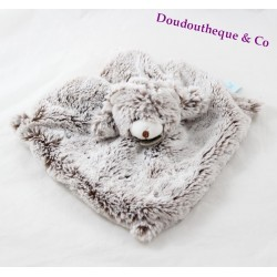 Doudou flat bear BABY NAT' The Flakes Fled BN051
