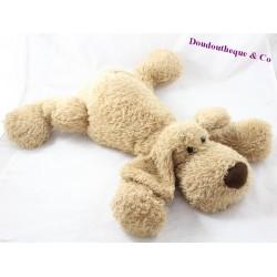 GunD beige dog handle elongated long hairs 50 cm