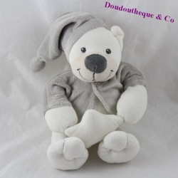 Musical cub splendor BOUT'CHOU Monoprix grey star 25 cm