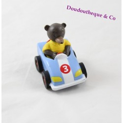 Figure Small Bear Brown BAYARD PRESS blue car 3 Danièle Bour