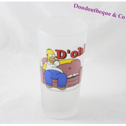 Glass top Homer SIMPSONS sofa D'oh! 16 cm opaque glass