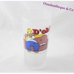 Verre haut Homer SIMPSONS canapé D'oh ! verre opaque 16 cm