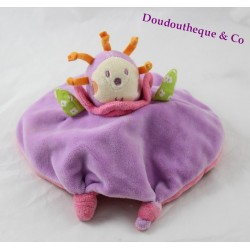 Soft bee NOUNOURS reversible pink purple