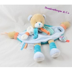 Doudou flat bear DOUDOU AND COMPAGNY You're where doudou Tatoo DC3156 30 cm