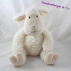 AtMOSPHERA sheep towel beige white 30 cm