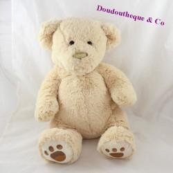 Soft FRIENDS beige bear towel 40 cm