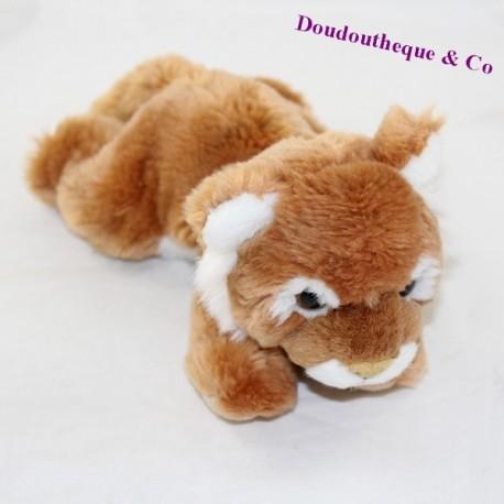 Zoo28 cm white maroon lion cub ZOO28 cm