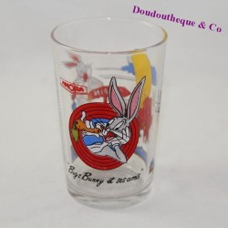 Glass Bugs Bunny and Friends AMORA Looney Tunes Warner Bros Mustard