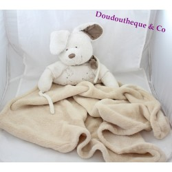 Large duvet rabbit NICOTOY cover bandana white beige 92 cm