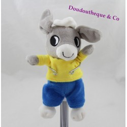 Trotro donkey towel TROtro GALLIMARD JEUNESSE t-shirt yellow shorts 17 cm