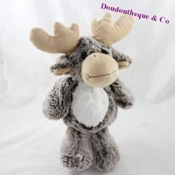 AnimaDOO Reindeer deer, white grey elk 30 cm