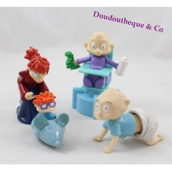 Lot of 4 figurines The Razmoket QUICK Candy Breaker Charles-Edouard Dil