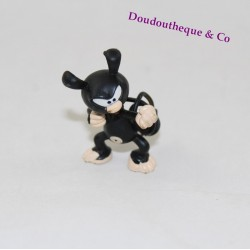 Figurine Marsupilami PLASTOY Bobo boxing baby Black Marsu 5 cm
