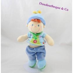 Doudou boy elf MOTS OF BLUE 27 cm