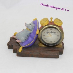 Resin figure Croutard rat WARNER BROS Harry Potter alarm clock Scabbers collection 8 cm