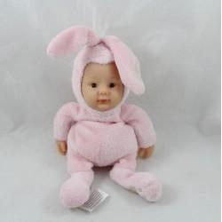 Baby bunny doll ANNE GEDDES pink Baby Bunnies 25 cm